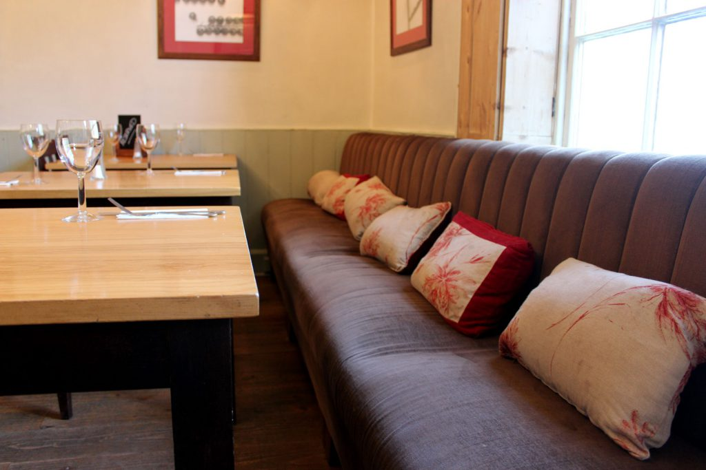 The Bell - Bench seating restaurant