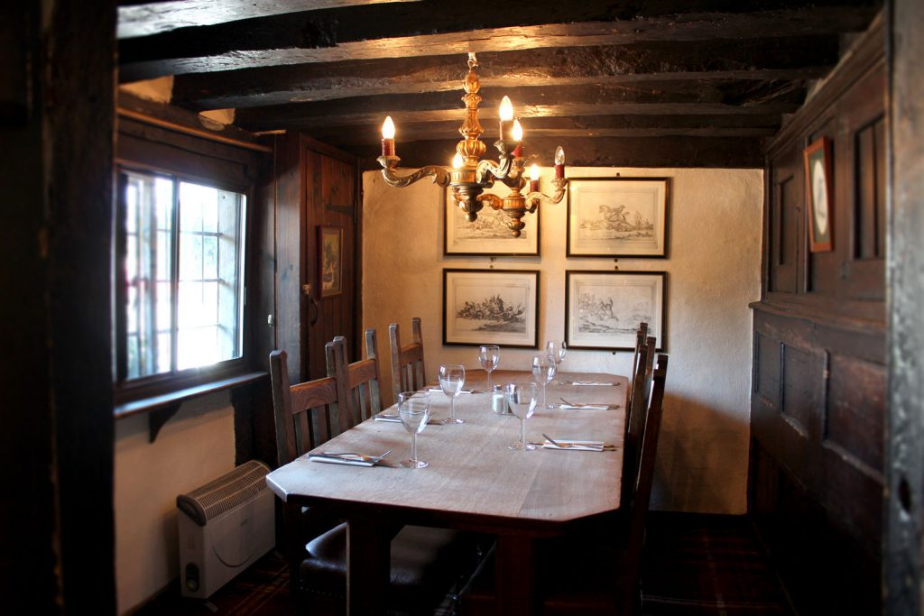 The Bell - dining room